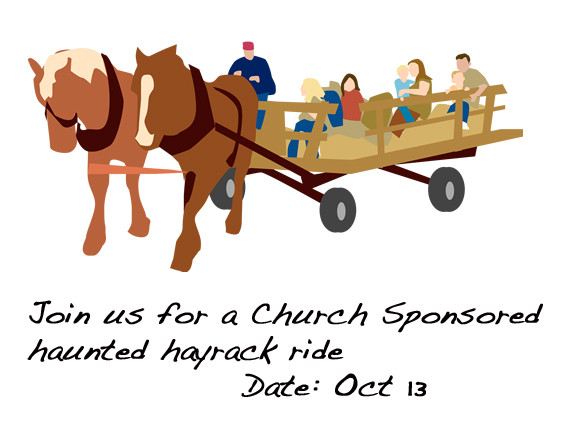 Haunted Hayrack Ride