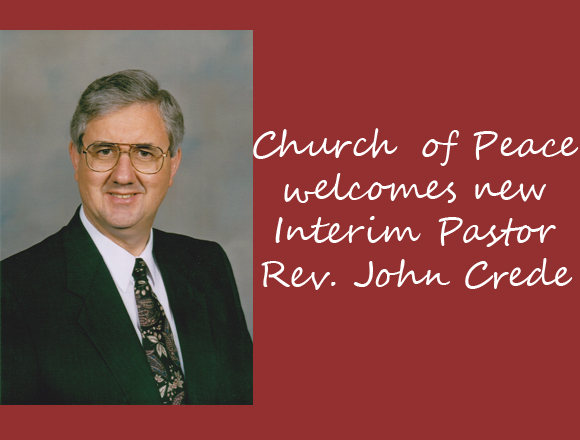 Church of Peace welcomes new interim pastor