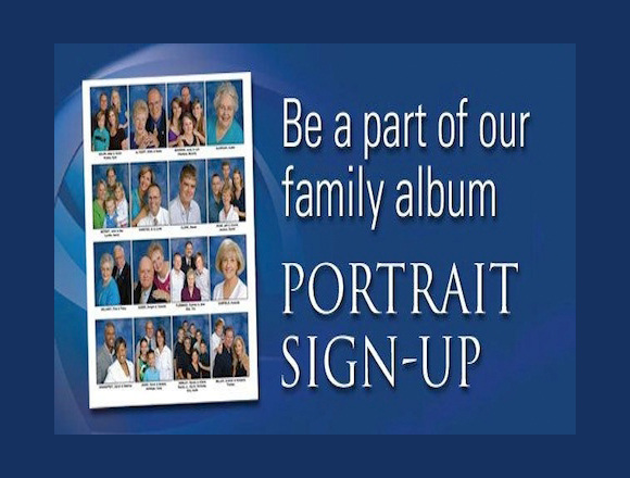 Sign up for the Church Pictorial Directory