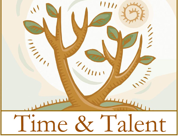 Time and Talent Sunday