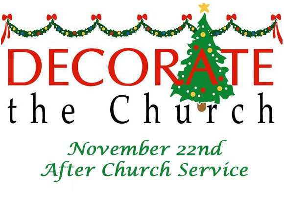 Decorate the Church