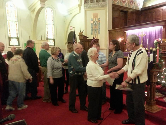 New Members Join Church of Peace