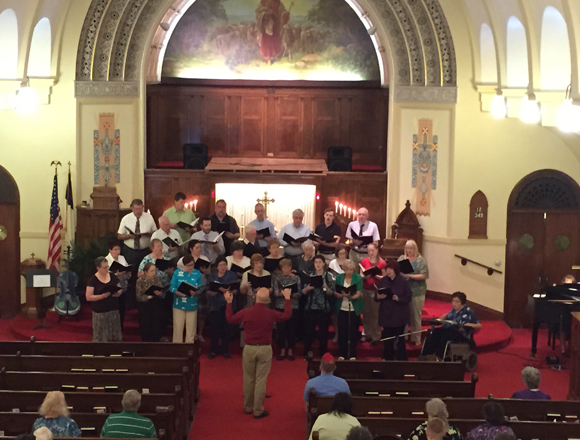 Church of Peace and Two River Church Choirs to Join Voices Again