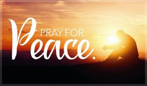 Pray for Peace Aug. 29