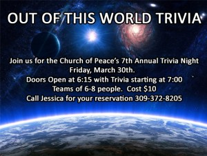 Church of Peace Trivia Night