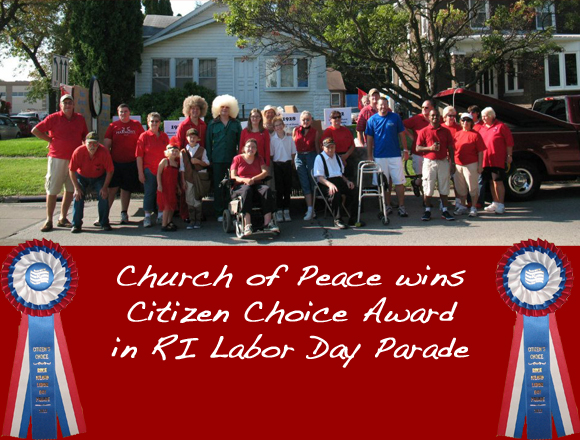 Church wins top prize in Labor Day Parade