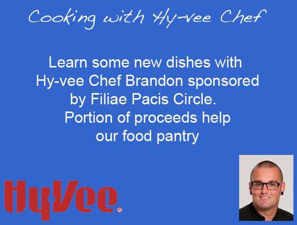 Cooking with Hy-Vee Chef