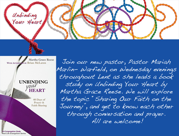 Weekly Lenten Book Study
