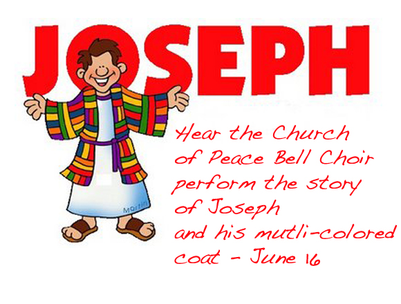 Bell Choir Performs Joseph and his Coat