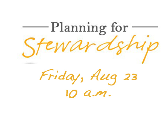 Planning for Stewardship