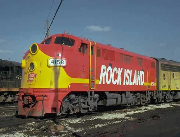 Rock Island Lines Train Dinner
