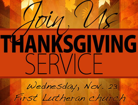 Annual Thanksgiving Community Worship Service