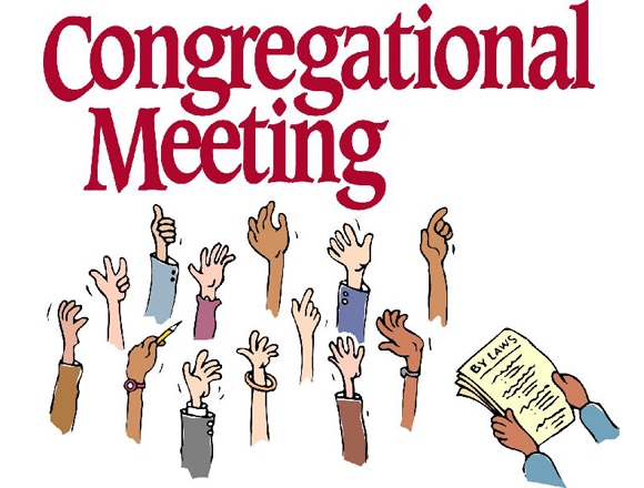 Congregational Meeting June 25