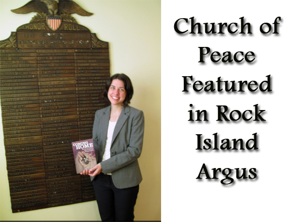 Church of Peace featured in Rock Island Argus